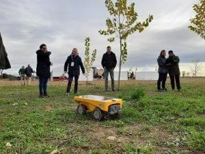 Muestra de un robot en Datagri
